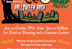 Never Say No Auto Halloween Contest