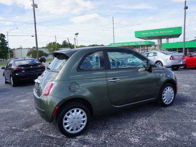 2013 fiat 500 pop for sale in springfield mo never say no auto. Black Bedroom Furniture Sets. Home Design Ideas