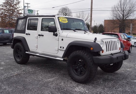 2009 jeep wrangler unlimited x springfield mo never say no auto. Black Bedroom Furniture Sets. Home Design Ideas