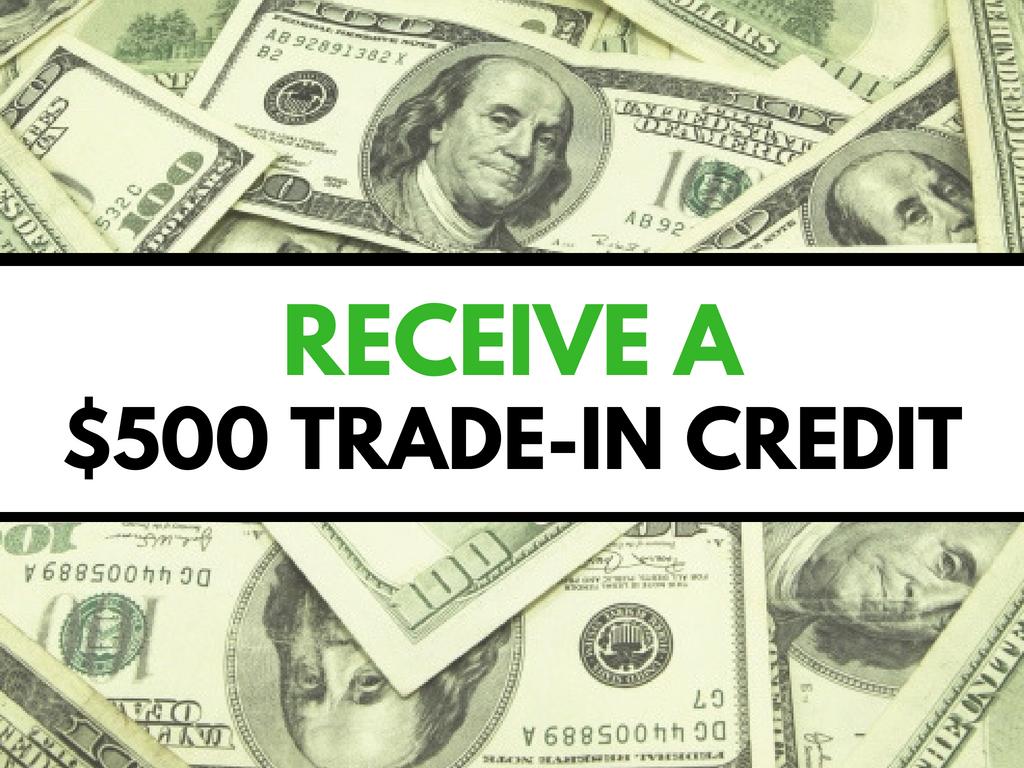 500 trade in credit never say no auto. Black Bedroom Furniture Sets. Home Design Ideas