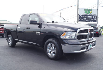 2016 RAM Extended Cab