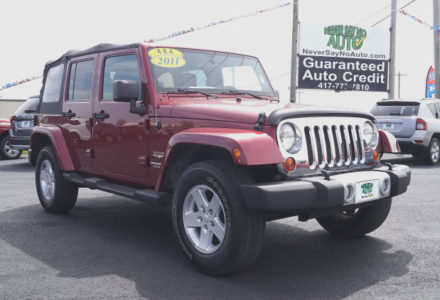 2011 Jeep Wrangler Unlimited 4×4- Bolivar MO