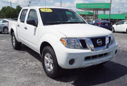 2013 Nissan Frontier 4×4 Crew Cab – Springfield MO
