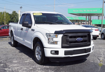 2015 Ford F-150 SuperCab