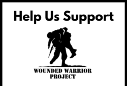 Help us Support the Wounded Warrior Project