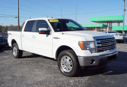 2013 Ford F-150 Lariat SuperCrew 4x4