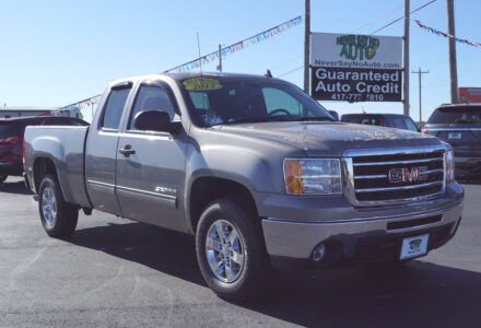 2012 GMC Sierra Extended Cab