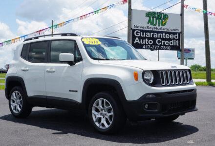 2018 Jeep Renegade 4×4 – Bolivar MO